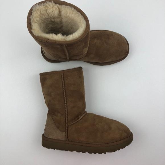 ca1b2304a38 UGG Classic Tall Cuff Chestnut Suede Boots Sz US 6